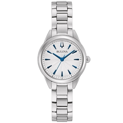 Picture of Bulova Ladies' Classic Sutton Watch with White Dial