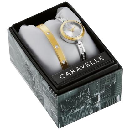 Picture of Bulova Caravelle NY Dress Bracelet & Watch Set