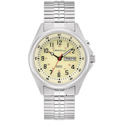 Picture of Bulova Caravelle NY Traditional Stainless Steel Watch