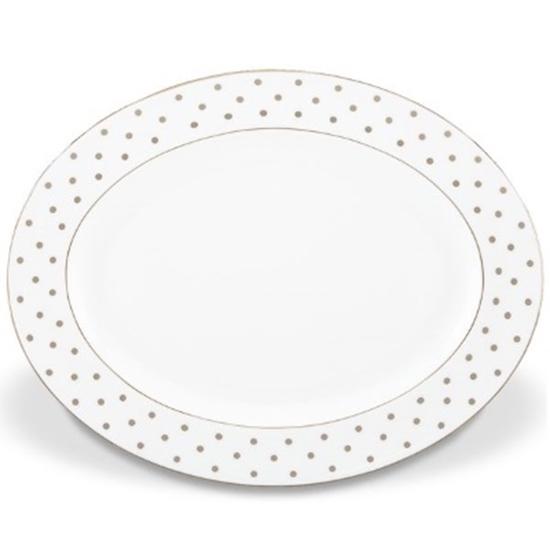 Picture of Kate Spade Larabee Road Platinum 16'' Oval Platter