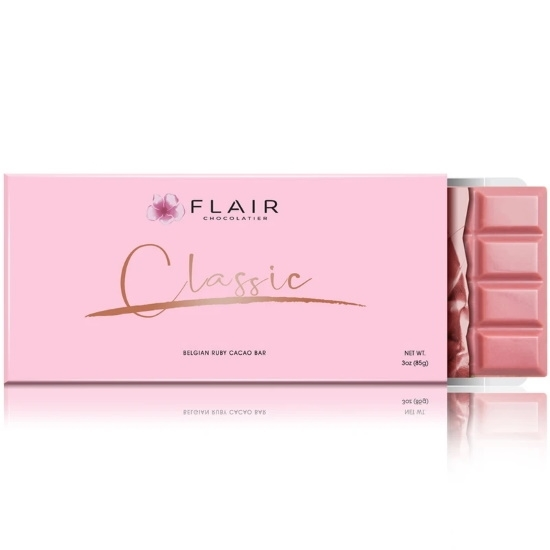 Picture of Flair Classic Belgian Ruby Chocolate Bar
