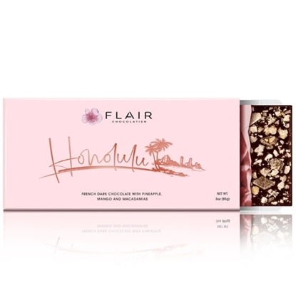 Picture of Flair Honolulu French Dark Chocolate Bar
