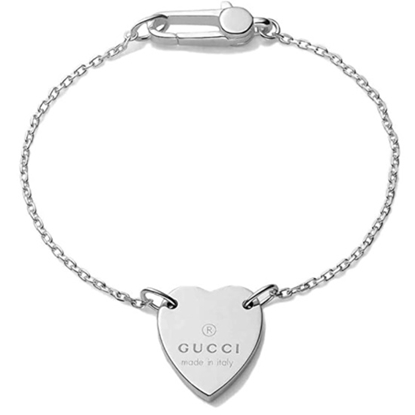 Picture of Gucci Trademark Heart Bracelet - Silver