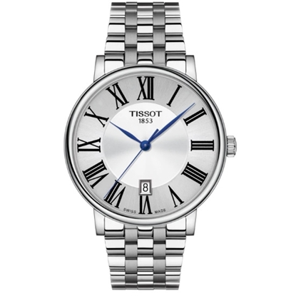Picture of Tissot Carson Premium Stainless Steel Watch with Silver Dial