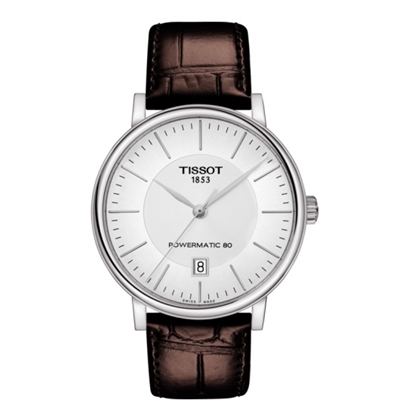 Picture of Tissot Carson Premium Powermatic 80 - Brown Leather