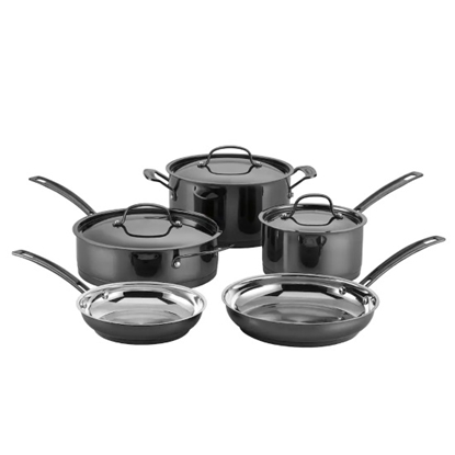 Picture of Cuisinart® Mica Shine 8-Piece Cookware Set