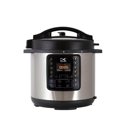 Picture of Kalorik 6L Pressure Cooker - Black/Stainless Steel