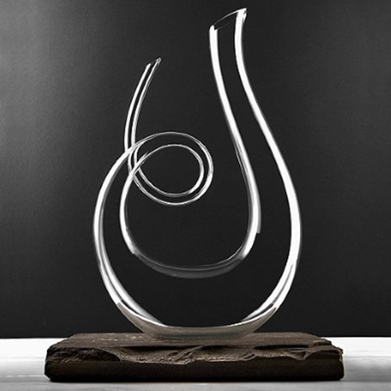 Picture of Wine Enthusiast Art Series Treble Decanter