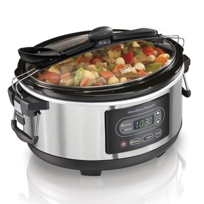 Picture of Hamilton Beach® Stay or Go® 5-Qt. Slow Cooker