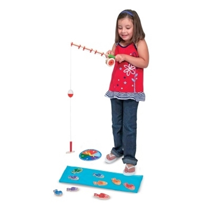 Picture of Melissa & Doug® Catch & Count Fishing Game