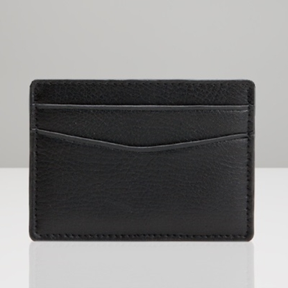 Picture of Wolf Blake Card Wallet - Black Pebble