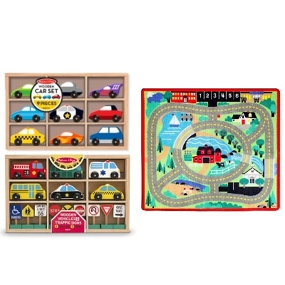 Picture of Melissa & Doug® Around the Town Rug Set