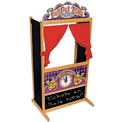 Picture of Melissa and Doug® Deluxe Puppet Theater