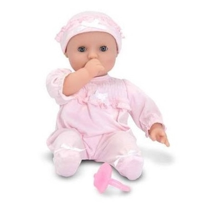 Picture of Melissa & Doug® Jenna Doll with Diaper Bag Set