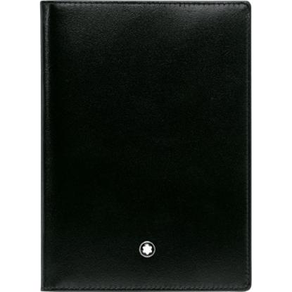 Picture of Montblanc Meisterstück Passport Holder - Black