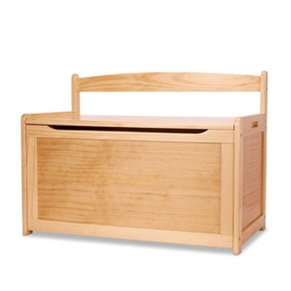 Picture of Melissa & Doug® Wooden Toy Chest - Honey