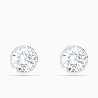 Picture of Swarovski Tennis Deluxe Stud Pierced Earrings