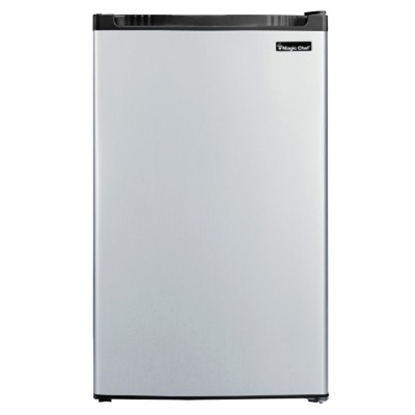 Picture of Magic Chef 4.4 Cu. Ft. Refrigerator - Faux Stainless Steel