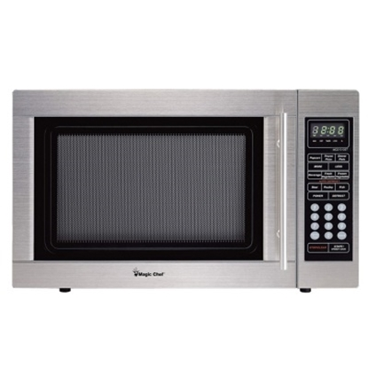 Picture of Magic Chef 1.3 Cu. Ft. Microwave - Stainless Steel