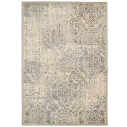 """Picture of Nourison Graphic Illusions 5'3"""" x 7'5"""" Rug - Ivory"""