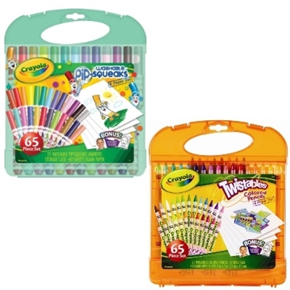 Picture of Crayola® Pip Squeaks Markers & Twistables Colored Pencils