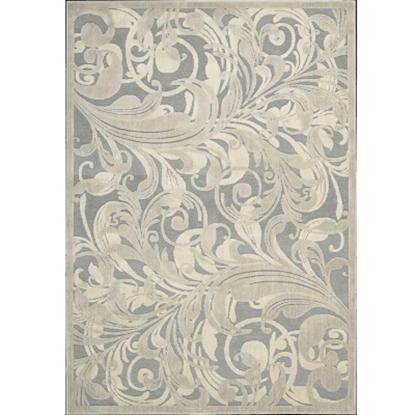 Picture of Nourison Graphic Illusions 5'3''x7'5'' Rug - Grey/Camel