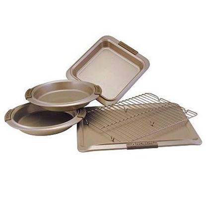 Picture of Anolon® Bronze 5-Piece Bakeware Set