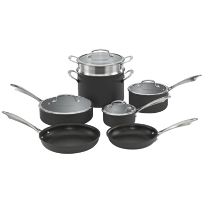 Picture of Cuisinart Hard Anodized 11-Piece Cookware Set