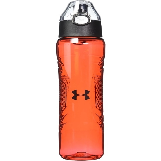 Picture of Under Armour 24oz. Tritan Bottle with Push Top - Red