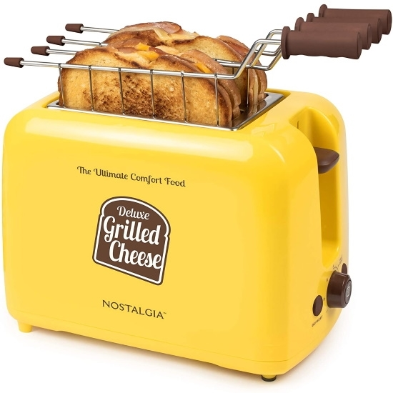 Picture of Nostalgia Deluxe Grilled Cheese Sandwich Toaster