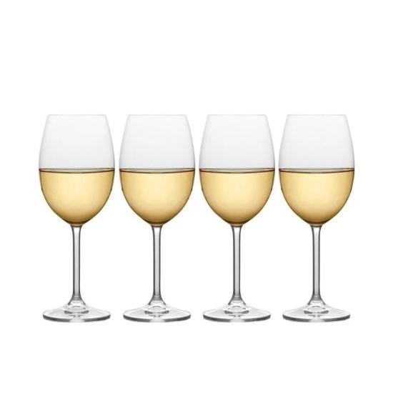 Picture of Mikasa Julie 16.5oz. White Wine Glasses - Set of 4
