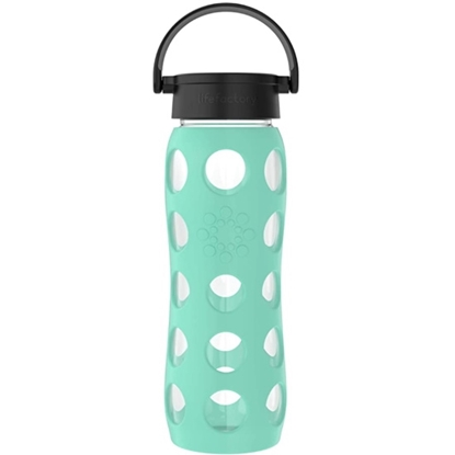 Picture of Life Factory 22oz. Glass Bottle - Sea Green