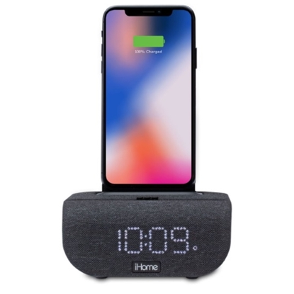 Picture of iHome Dual Charging Bluetooth Alarm Clock