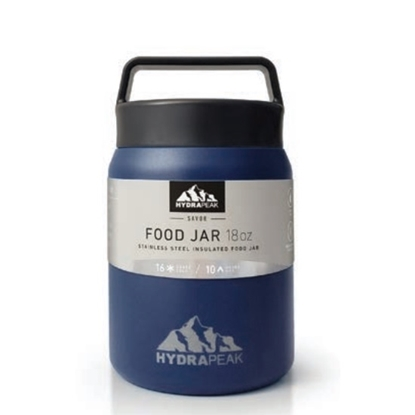 Picture of Hydrapeak 18oz. Double Wall Vacuum Food Jar - Navy