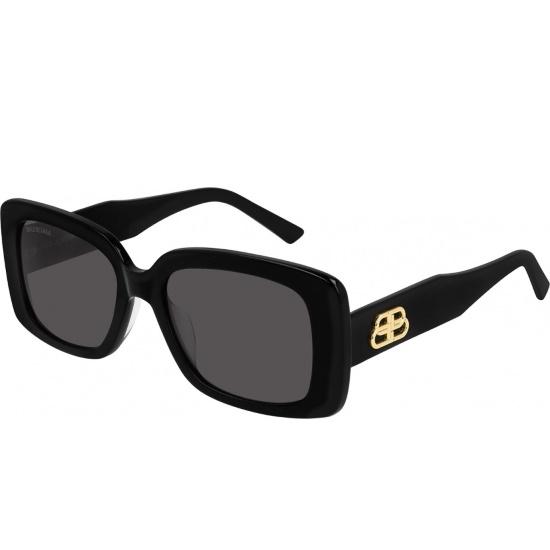Picture of Balenciaga Ladies' Acetate Square Sunglasses - Black