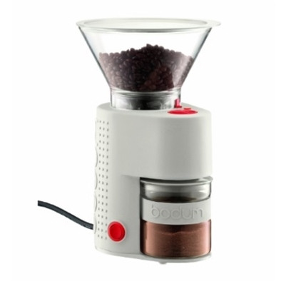 Picture of Bodum Bistro Electric Coffee Grinder - Off White