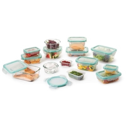 Picture of OXO 30-Piece Smart Seal Glass & Plastic Container Set