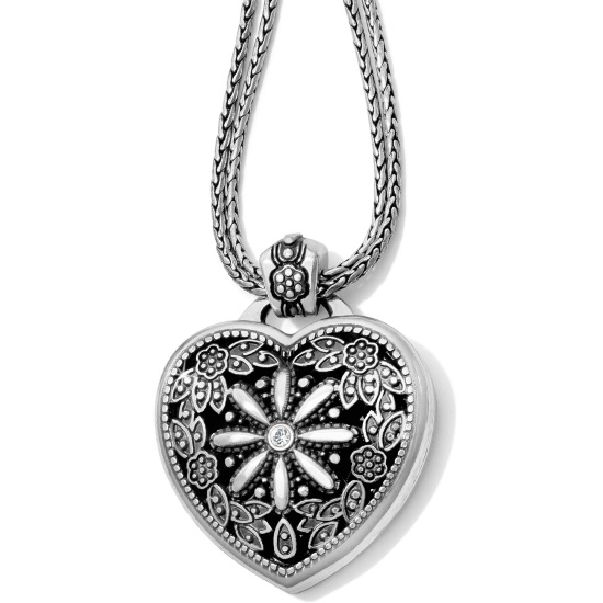 Picture of Brighton Floral Heart Single Locket