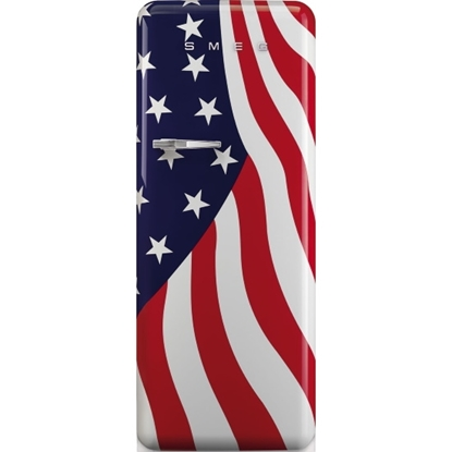 Picture of SMEG Retro Fridge 9.22 Cu. Ft. - U.S.A. Flag