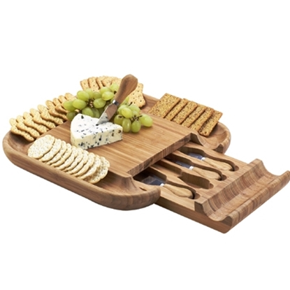 Picture of Picnic at Ascot™ Malvern Cheese Board Set