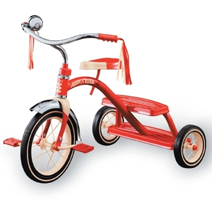 Picture of Radio Flyer® Classic Red Dual Deck Tricycle