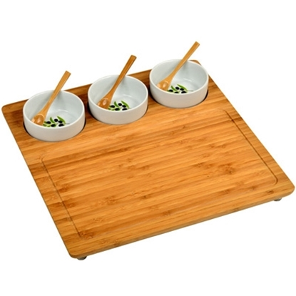 Picture of Picnic at Ascot™ Three Bowl Entertaining Set