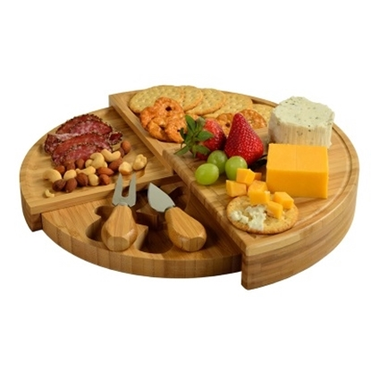 Picture of Picnic at Ascot Florence Cheese Set