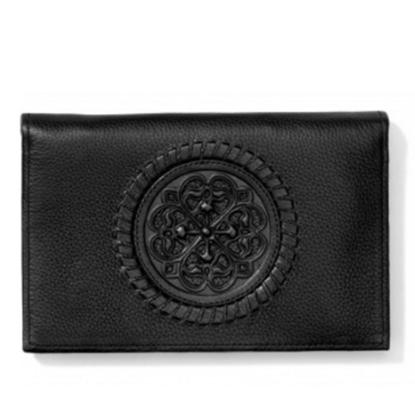 Picture of Brighton Ferrara Folio Wallet - Black