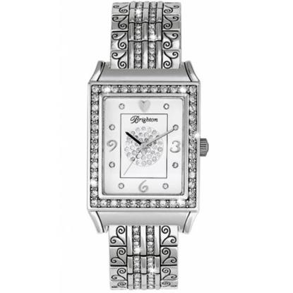 Picture of Brighton Diamond Bar Watch - Silver