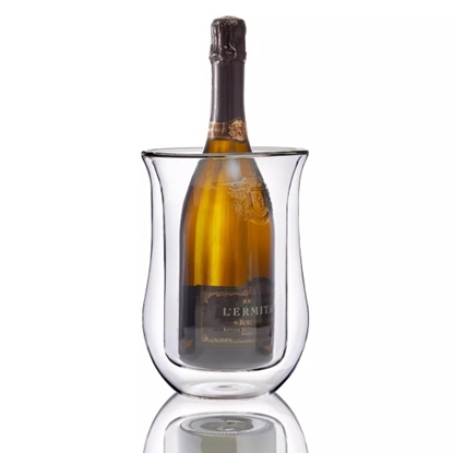 Picture of Wine Enthusiast Double Wall Iceless Flared Wine Bottle Chiller