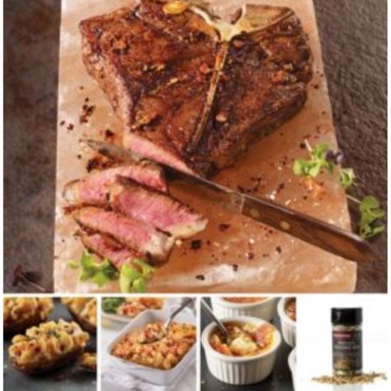Picture of Omaha Steaks Porterhouse Family Dinner