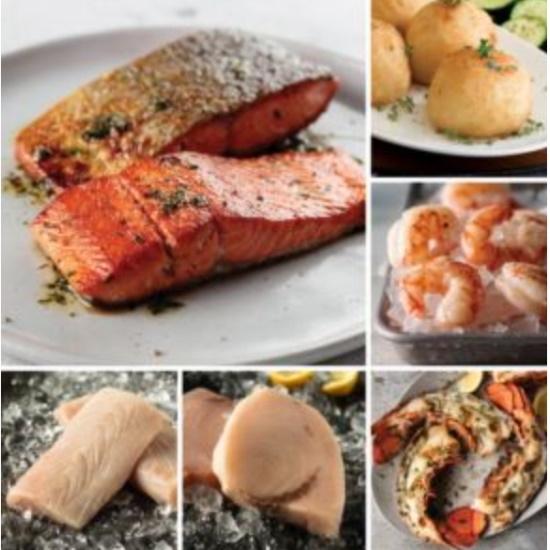 Picture of Omaha Steaks Elite Seafood Sampler