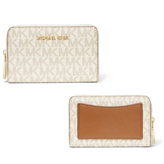 Picture of Michael Kors Jet Set Signature Small Card Case