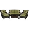 Picture of Hanover Strathmere 6-Piece Deep Seating Patio Set-Green